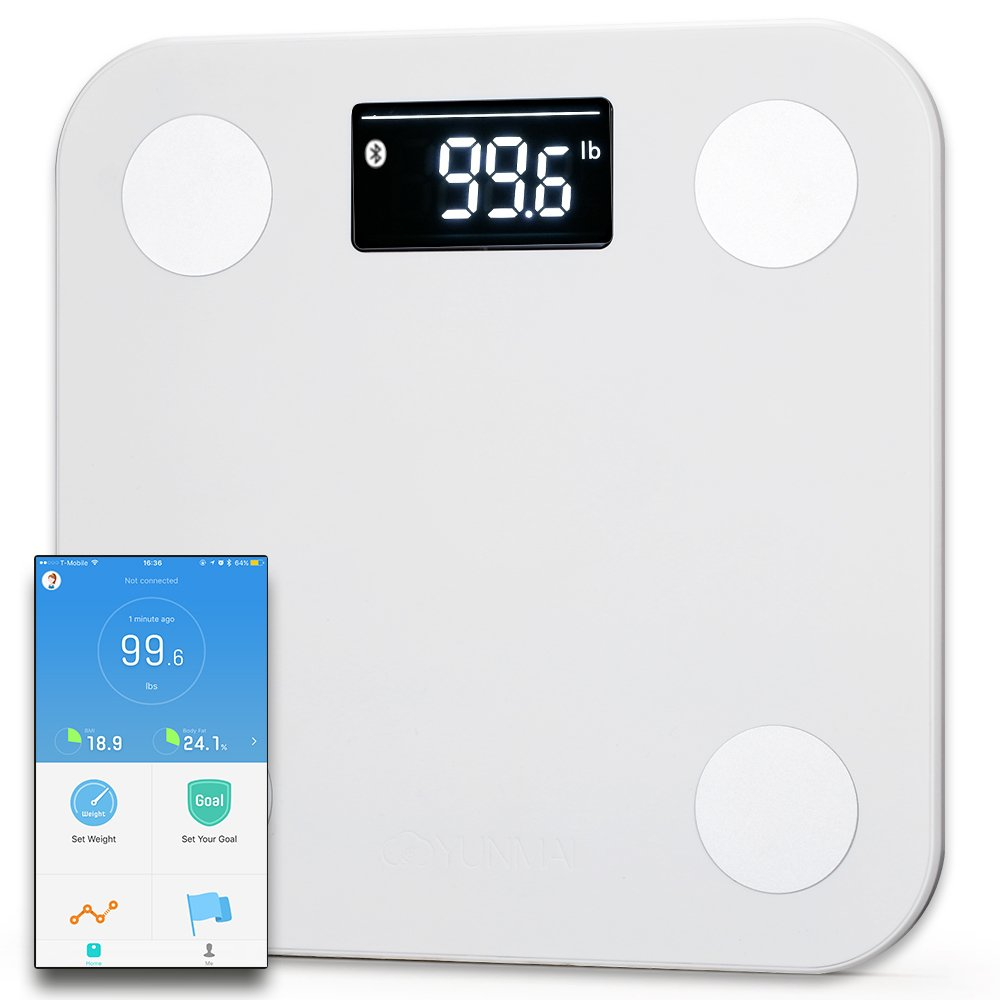 Yunmai scale and smart phone app