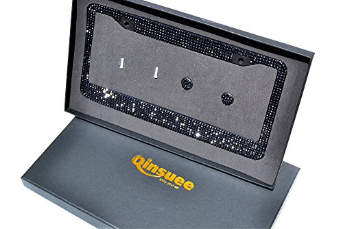 Qinsuee Handmade Bling Rhinestones License product image
