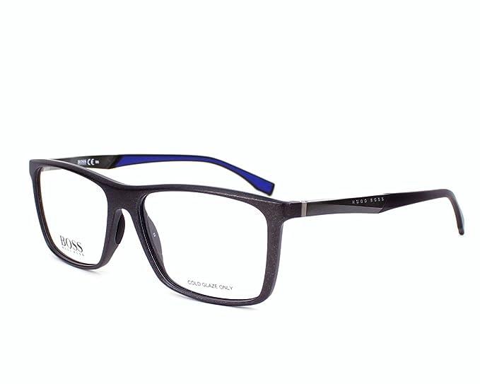 BOSS Hugo 0708 H4F 54 Gafas de Sol, Negro (Black Matte Dark ...