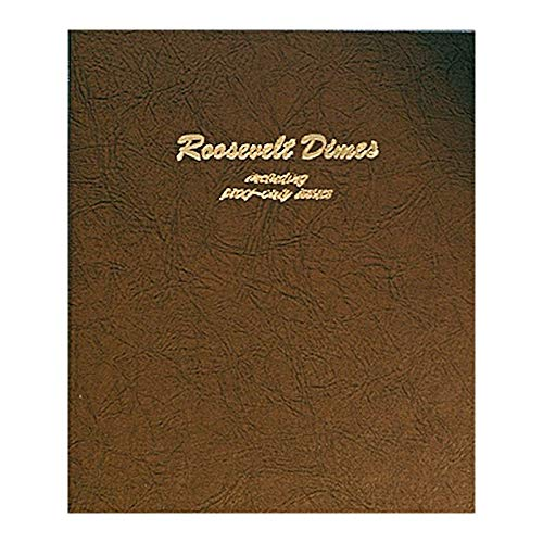 Dansco US Roosevelt Dime Coin Album 1946 - 2023 with Proof #8125 ()