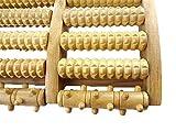 Actopus Wood Foot Roller Massager Wooden Feet