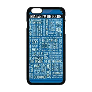 """Danny Store Hardshell Cell Phone Cover Case for New iPhone 6 (4.7""""), Dr.Who Quotes"""
