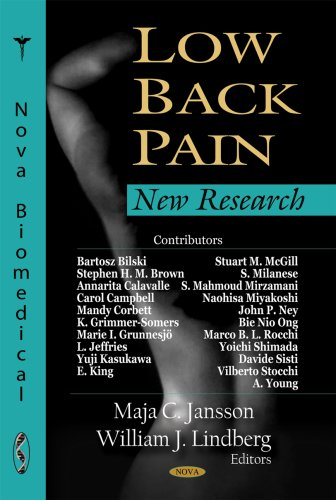 Book cover from Low Back Pain: New Researchby Stephen King
