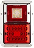 Bargman 47-85-614 Surface Mount Taillight, Red