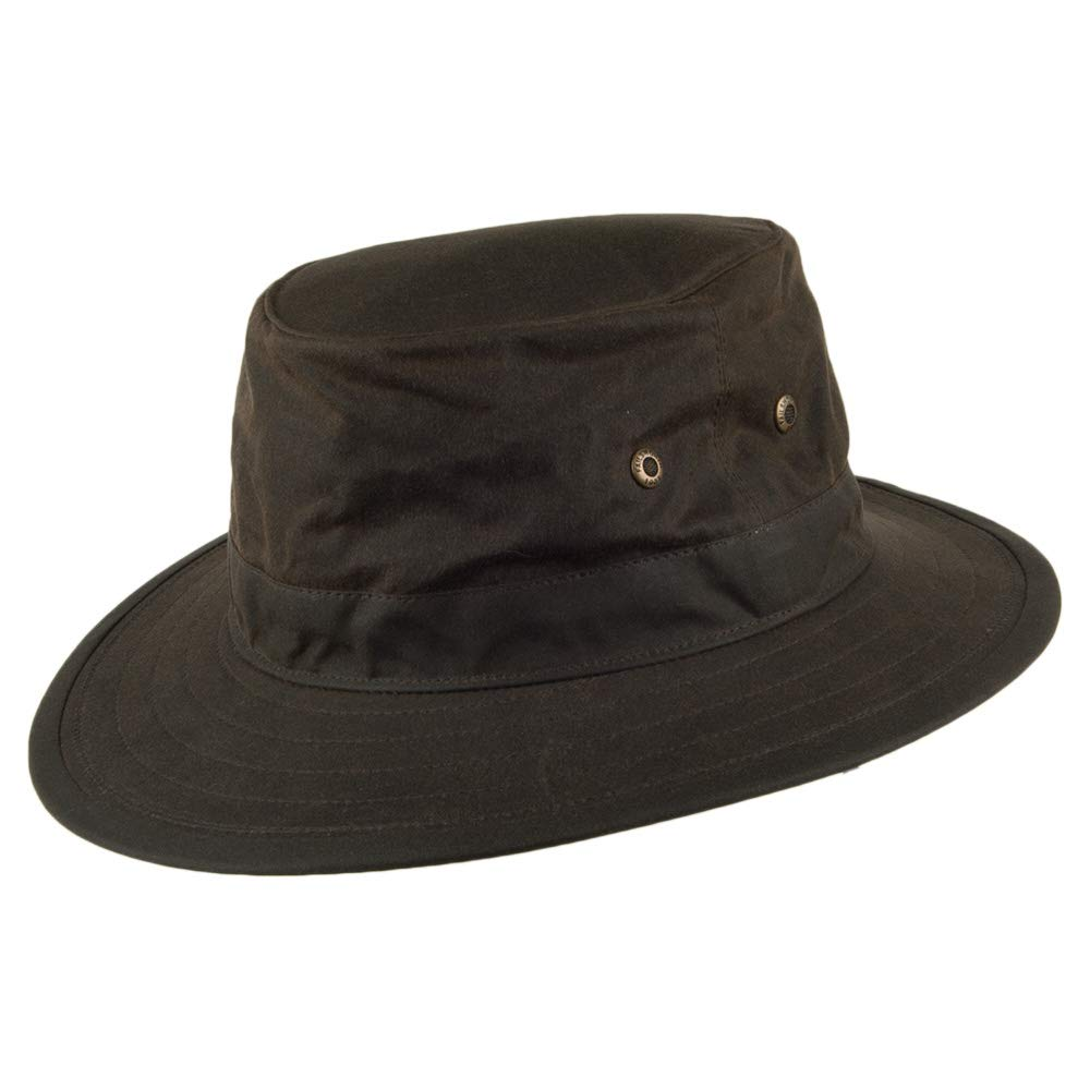 Failsworth Hats Wax Traveller Hat - Olive