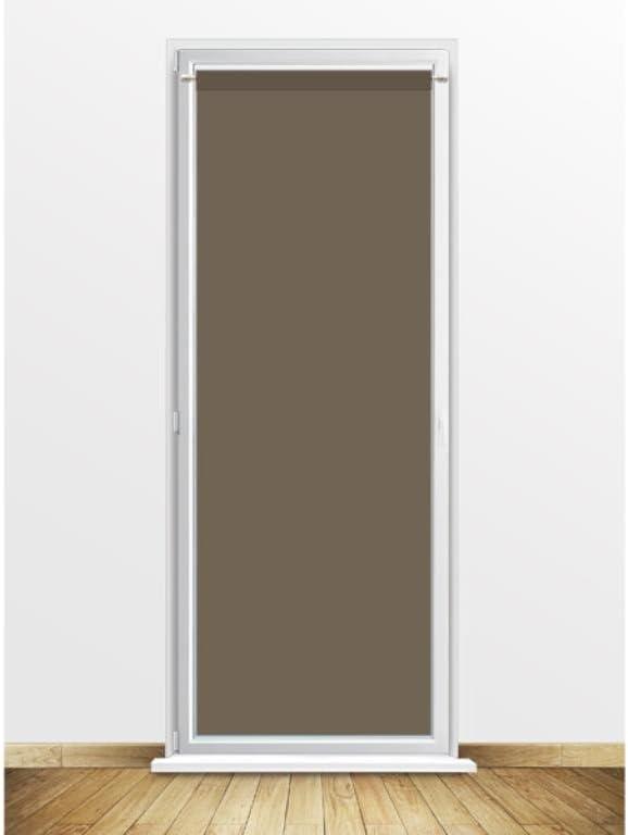 Soleil docre Visillo para Puerta acristalada 90x200 cm Dolly Gris Topo: Amazon.es: Hogar