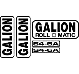 New Decal Set for Galion Model S4-6A Roll O Matic Roller Machines