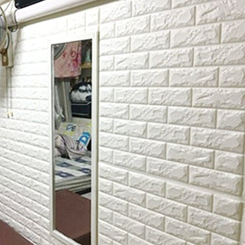 Home Product 3D Brick Pattern Wall Stickers Family Adhesive Safety And Environmental Protection Simple Style Wall Decals