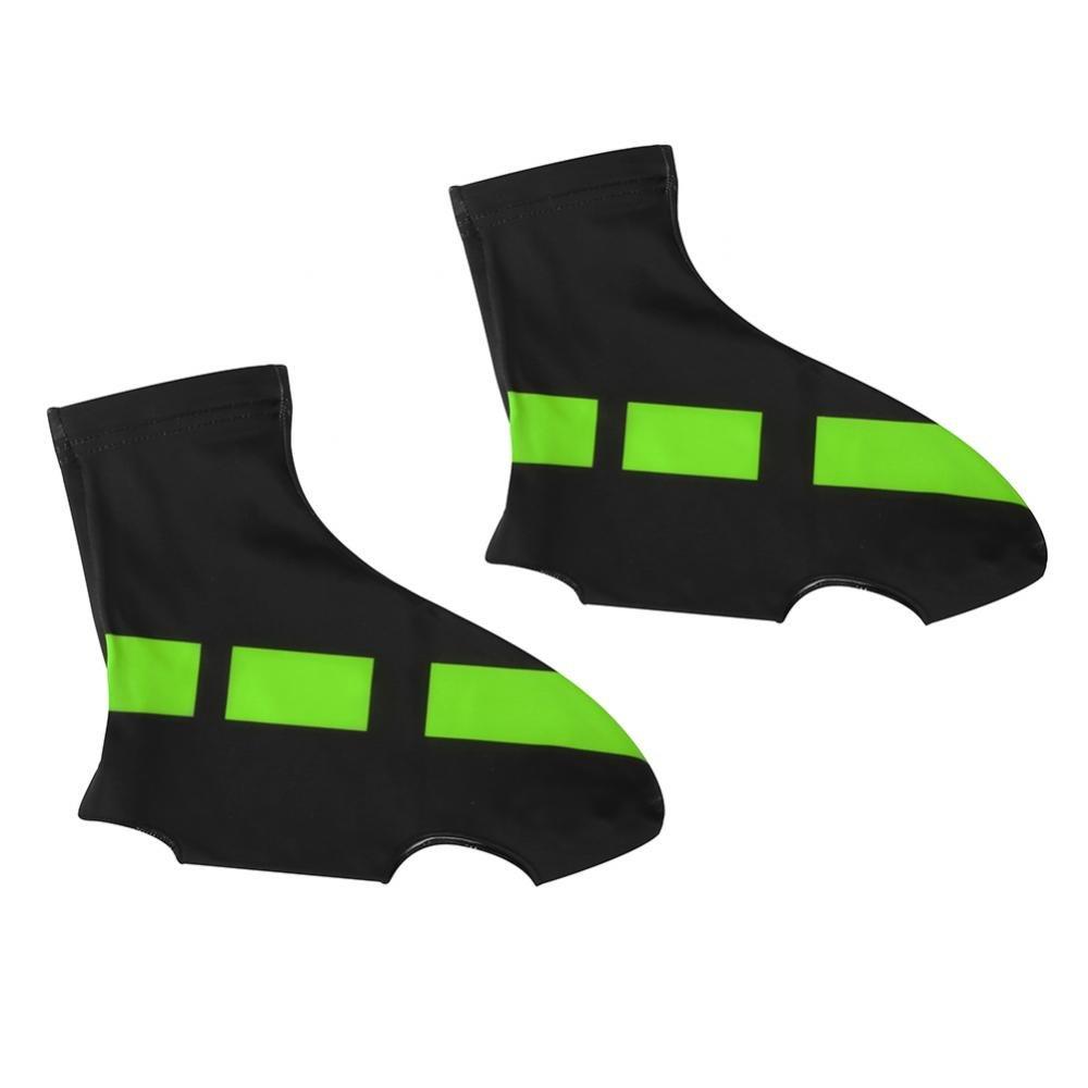 Dilwe Cubrezapatillas de Ciclismo 1 par Cubiertas de Calzado Elásticas a Prueba de Agua y Viento Accesorios de Ciclismo