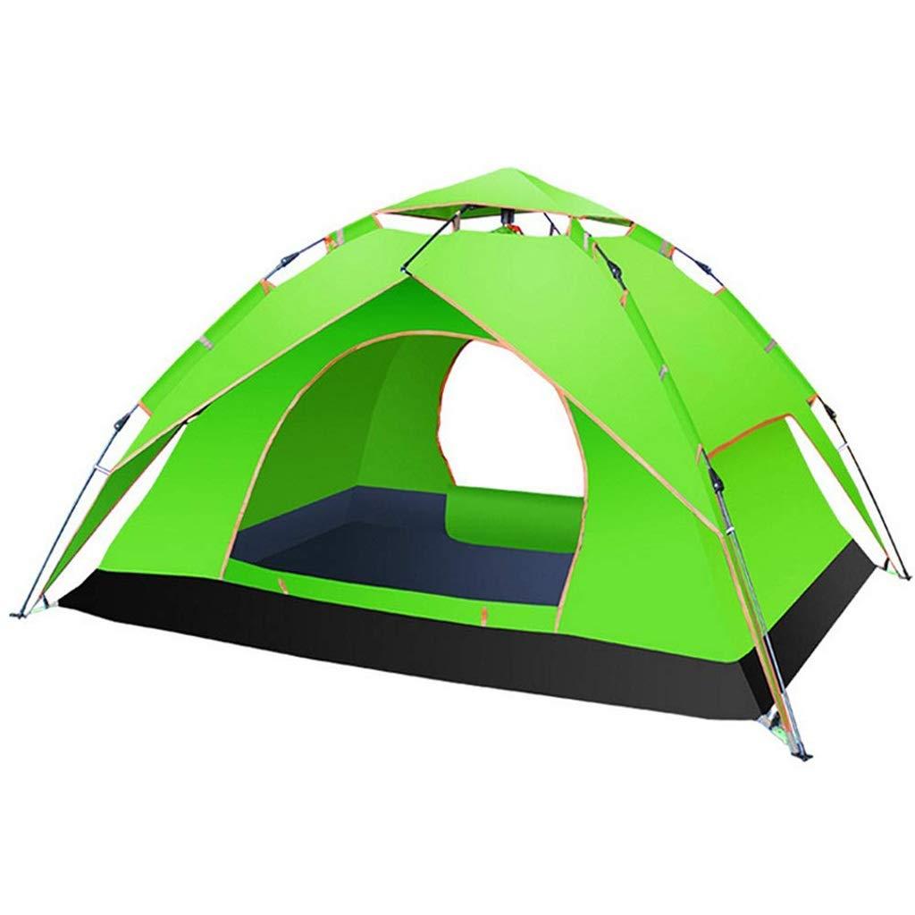 【税込?送料無料】 自動ポップアップテント3-4人防水多目的キャンプテント3色 (色 : : Green) (色 Green Green) B07P3L9M7M, WOLFROBE:94a7b07c --- ciadaterra.com