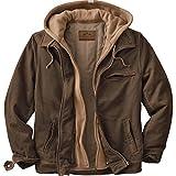 Legendary Whitetails Men's Rugged Brown Full Zip Dakota Jacket (Brown, Large Tall)