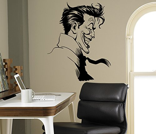 Joker Supervillain Wall Vinyl Decal Batman Sticker Superhero