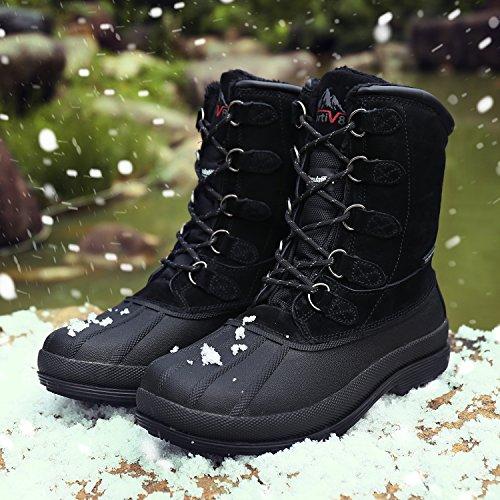 Arctiv8 Hombres Nortiv8 170390-m Botas De Nieve Impermeables Para Trabajo Negro