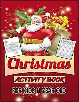 Countdown To Christmas Activity Book 2020 Christmas Activity Book For Kids 11 Year Old: Christmas Countdown