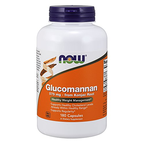 NOW Glucomannan 575 180 Capsules