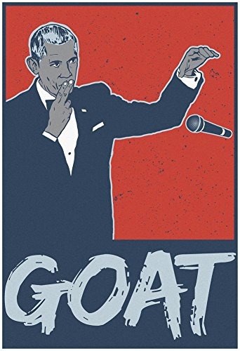 Obama - Goat Potus Poster with Hanger