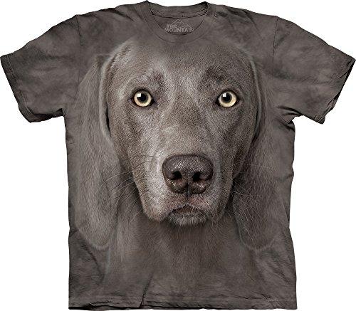 The Mountain Weimaraner T-Shirt, XX-Large, Gray