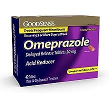 GoodSense Omeprazole Delayed Release, Acid Reducer Tablets 20 mg, 42 Count