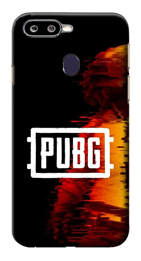 Mott2 Back Case for Oppo F9 Pro -Pubg Video Game Theme