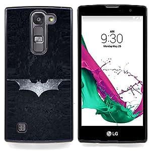 Jordan Colourful Shop - Superhero Sign For LG Volt 2 / LG G4 Mini (G4c) - < Personalizado negro cubierta de la caja de pl??stico > -
