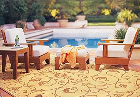 outdoor floor seating. sunbrella fabric cushions seat u0026 back for caranas 4pc sofa set 2 deep outdoor floor seating