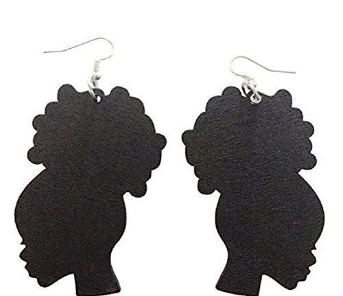 Afro Puff/Afro Girl Earrings