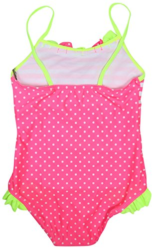 Real Love Girls' 2-Pack One Piece Swimsuit (Little Girls/Big Girls), Polka Dots, Size 7-8' by Real Love (Image #4)