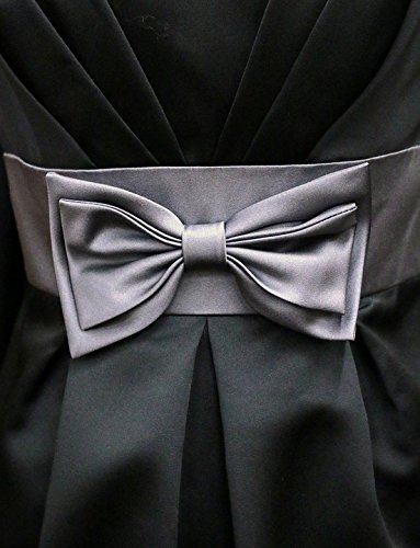 Home Comforts Acrylic Face Mounted Prints Knot Couture Pleated Bow Fashion Dress Satin Print 14 x 11. Worry Free Wall Installation - Shadow Mount is Included.