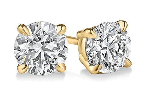 parikhs-round-diamond-stud-popular-quality-in-14k-yellow-gold-012-ctw-clarity-i2