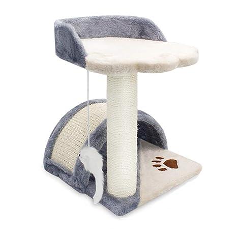 CAT-JXW Árbol para Gatos Grandes Arañazo Juguete Trepar Songmics Rascador Mascotas Escalador La Casa