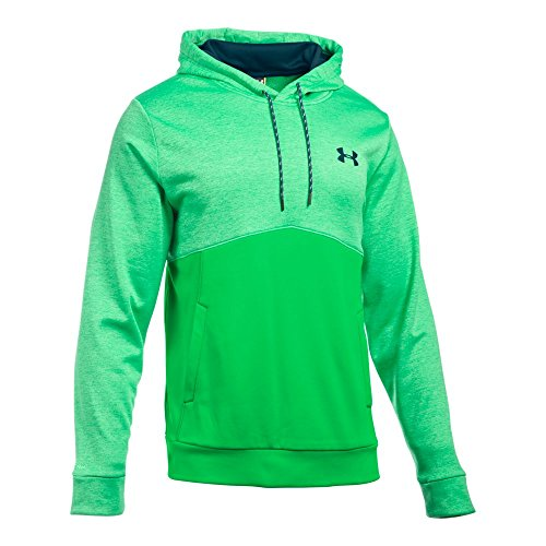 Under Armour Men's Storm Armour Fleece Icon Twist Hoodie Northern Lights/Nova Teal/Nova Teal Medium by Under Armour (Image #2)