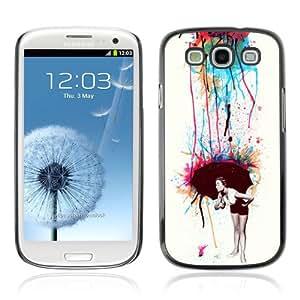 YOYOSHOP [Cool Colorful Retro Neon Art] Samsung Galaxy S3 Case