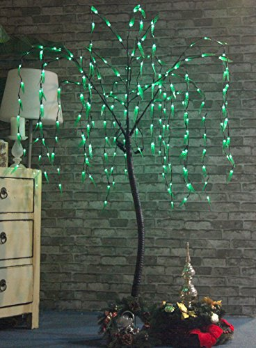 Outdoor Lighted Willow Tree - 2