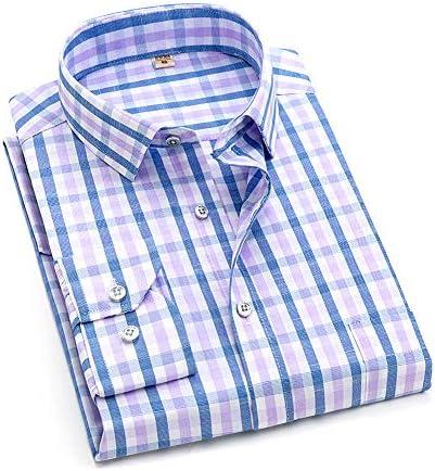【在庫一掃セール】チェックシャツ メンズ 長袖 ギンガム カジュアル 秋 冬 春 大きいサイズ 5色
