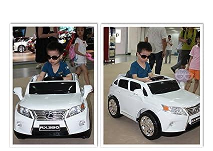 Amazon Com Ride On Toy Car License Lexus Rx350 Bluetooth Remote
