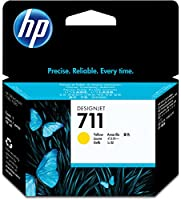 HP HEWCZ132A 711 Yellow Ink Cartridge, Yellow by SP Richards HI