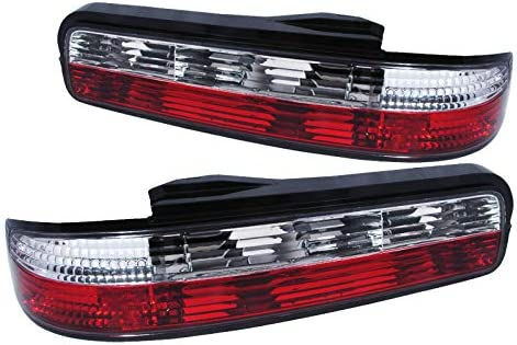 Spec-D Tuning LT-S13892RPW-TM Spec-D Altezza Tail Light Red Clear