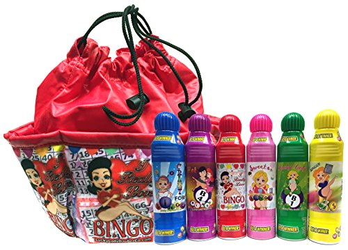 Lucky Lady Bingo Daubers 6-Pack with