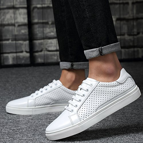 LHEU 40 EU Minitoo Uomo Sneaker LH099B Bianco White BxdqHw