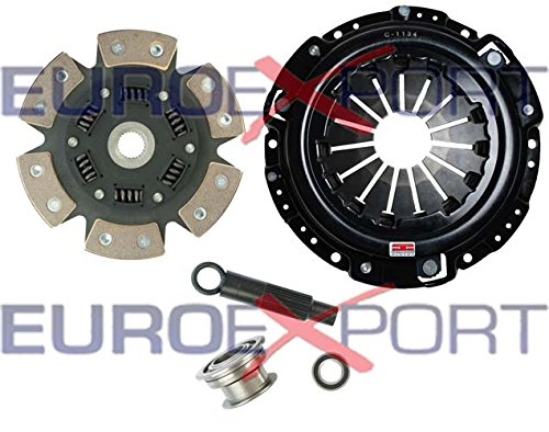 Competition Clutch Kit Honda H22 Prelude 2.0 2.1 6 Puck Sprung Stage 4 ()