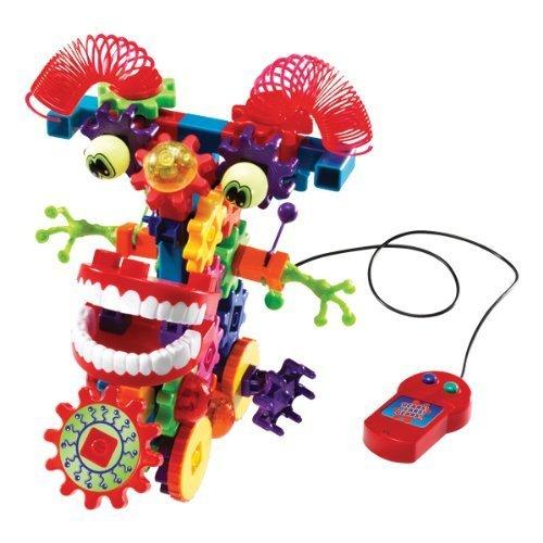 (Gears! Gears! Gears! Motorized Wacky Wigglers Building Set)