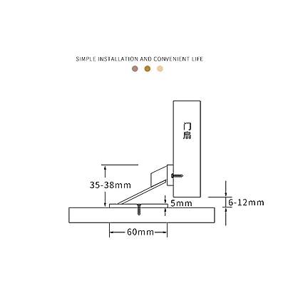Black LLguz Magnetic Door Holder Stopper with Accessories,Invisible Doors Stop Doorstop Wall Floor Mount Safety Catch for Home