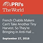 French Chablis Makers Can't Take Another Tiny Harvest. So They're Bringing in Anti-Hail Cannons | Adeline Sire
