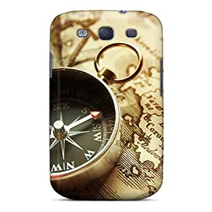 Galaxy High Quality Cases/ Compass VEw15496fwrN Cases Covers For Galaxy S3