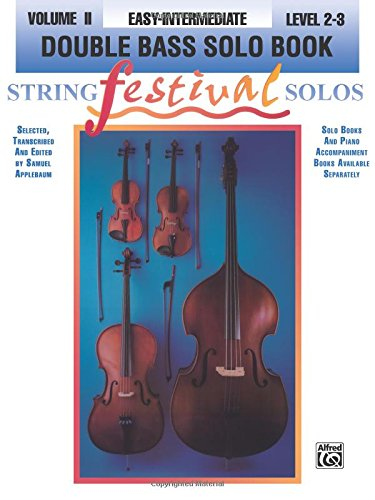 String Festival Solos, Vol 2: Double Bass - Festival Strings