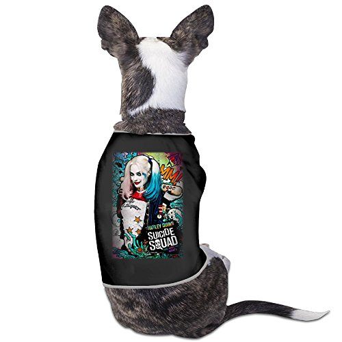 [Funny Suicide Squad-Harley Quinn Pet Dog T Shirt.] (Harley Quinn Smith Costume)