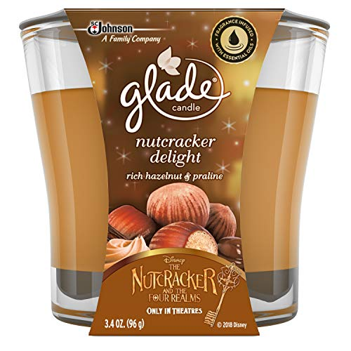 (Glade Jar Candle Air Freshener, Nutcracker Delight, 3.4 Ounces)