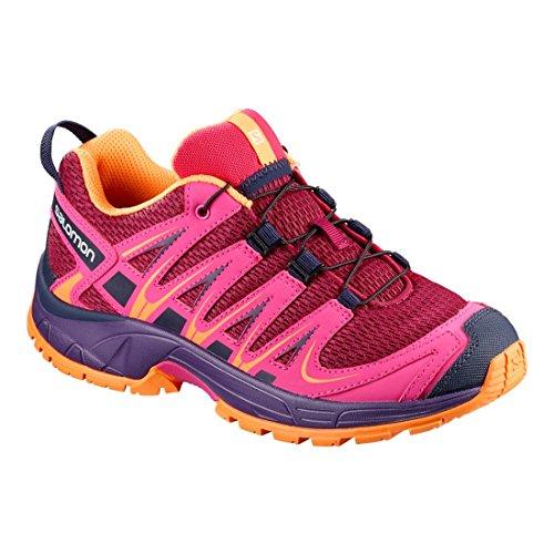 Salomon XA Pro 3D K, Zapatillas de Running Infantil beere/pink