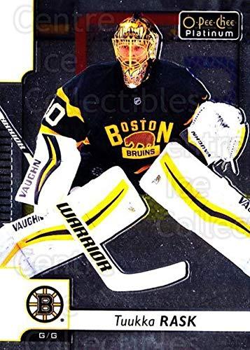 (CI) Tuukka Rask Hockey Card 2017-18 O-Pee-Chee Platinum 105 Tuukka Rask