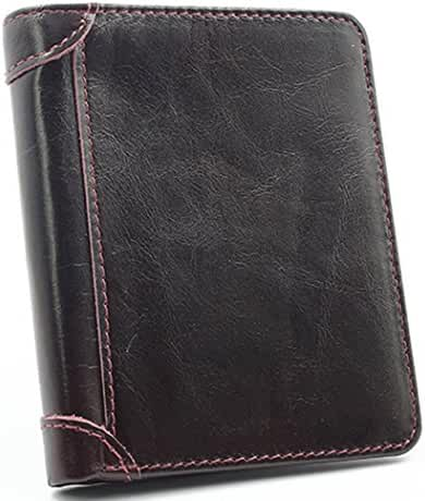 Zestway Genuine Leather Wallets for Men Wallet Bifold Trifold Hybrid Mens Gift